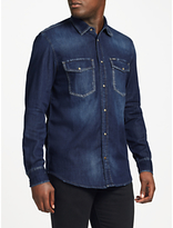 Diesel D-rooke Shirt, Dark Blue