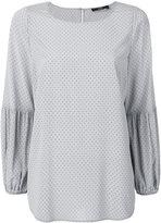 Steffen Schraut polka dot blouse - women - Silk/Spandex/Elastane - 34