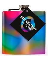 Fashion World Iridescent Hipflask