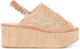 Robert Clergerie Fiesta sandals - women - Goat Skin/Leather/Straw/rubber - 35