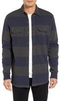 Tailor Vintage Piqué Stripe Work Shirt