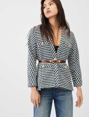 Maje Tweed cardigan-inspired jacket