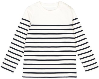 La Redoute Collections Cotton Breton T-Shirt, 3-12 Years
