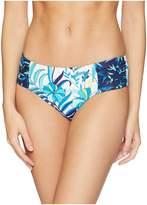 Tommy Bahama Tropical High-Waist Shirred Hipster Women's Swimwear