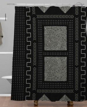 Deny Designs Iveta Abolina Mud Cloth Inspo I Shower Curtain Bedding