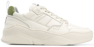 Ami Thick Sole Leather Trainers