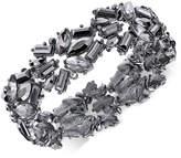 INC International Concepts I.n.c. Hematite-Tone Stone Cluster Stretch Bracelet, Created for Macy's