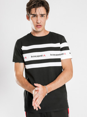 Le Coq Sportif Verrill T-Shirt in Black