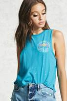 Forever 21 FOREVER 21+ Do Nothing Club Tank Top
