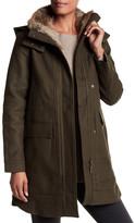 Joie Tibbie Genuine Rabbit Fur Lined Jacket