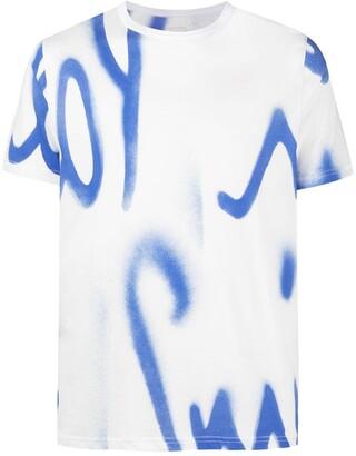 Paul Smith graffiti logo-print T-shirt