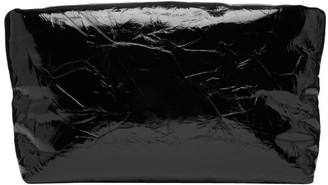 Kassl Editions Black Patent Lacquer Clutch