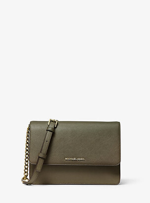 Michael Kors Daniela Large Saffiano Leather Crossbody Bag