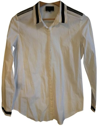 Hotel Particulier White Cotton Tops
