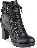 G by Guess Grazzy Lace-Up Booties
