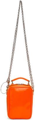 Junya Watanabe Orange Steer Glass Glossy Bag