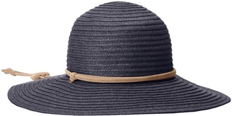 San Diego Hat Company Women's Large Brim Chin Cord Paper Braid Floppy