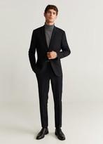 MANGO Super slim fit suit trousers