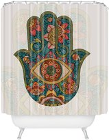 DENY Designs 71 by 74-Inch Valentina Ramos Hamsa Shower Curtain, Standard