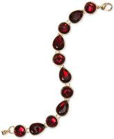 Nine West Round and Teardrop Stone Link Bracelet