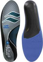 Sof Sole Fit Performance Insole, Low Arch, Women's Size 7-8
