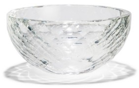Twos Company Two's Company Faceted Crystal Bowl in Gift Box