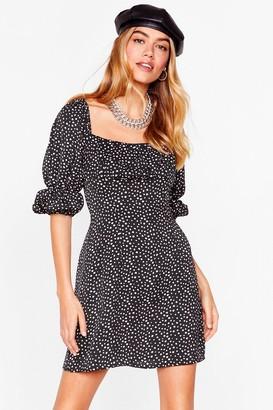 Nasty Gal Womens You Spot It Petite Mini Dress - Black