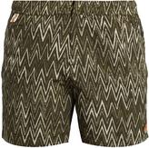 Missoni Chevron-print swim shorts