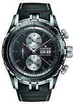 Edox Men's 01121 357N NIN Grand Ocean Analog Display Swiss Automatic Black Watch
