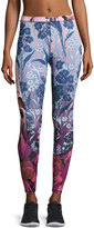 Charlie Jade Mixed Floral-Print Leggings, Multi