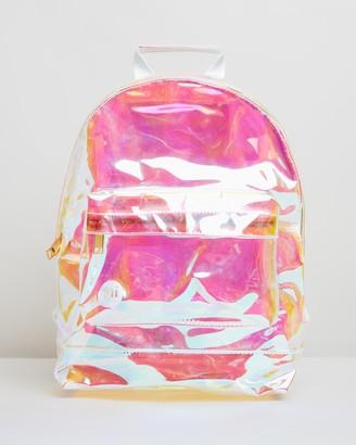 Mi-Pac Mini Gold Transparent Backpack