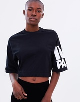 Ivy Park Gathered Hem Crop Sweat