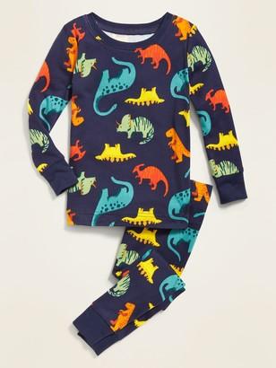 Old Navy Dinosaur-Print Pajama Set for Toddler & Baby