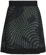 M Missoni Metallic Jacquard-Knit Mini Skirt