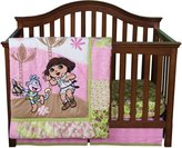 Trend Lab DORA THE EXPLORER 5-PIECE CRIB TO TODDLER BEDDING SET