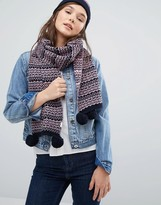 Jack Wills Fairisle Scarf