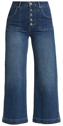 Paige Anessa Wide-Leg Jeans
