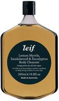 LEIF Lemon Myrtle, Sandalwood & Eucalyptus Body Cleanser