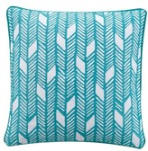 Kas Designs Camile Embroidered Pillow