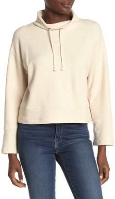 Madewell Mock Neck Sweatshirt