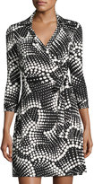 Julie Brown Milo Printed Wrap Dress