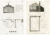 One Kings Lane Vintage 1817 English Greenhouse Designs - Set of 2 - Prints with a Past