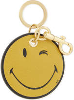 Anya Hindmarch Smiley leather keyring
