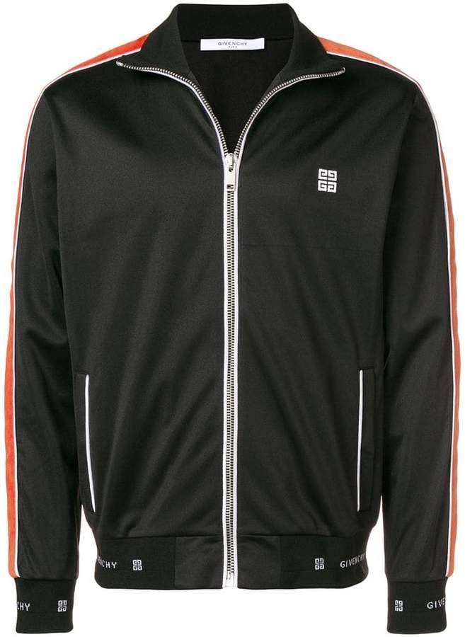 Givenchy 4G side stripe track jacket