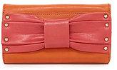 Kate Landry Jocelyn Bow Checkbook Wallet