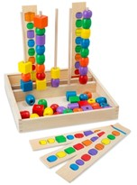 Melissa & Doug Kids' Bead Sequencing Set