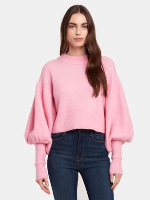 Baum und Pferdgarten Coline Crop Blouson Sleeve Sweater