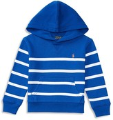 Ralph Lauren Boys' French Terry Striped Hoodie - Sizes 2-7