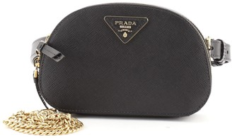 Prada Odette Convertible Belt Bag Saffiano Leather