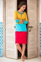 Shabby Apple Marrakech Sunset Dress Yellow